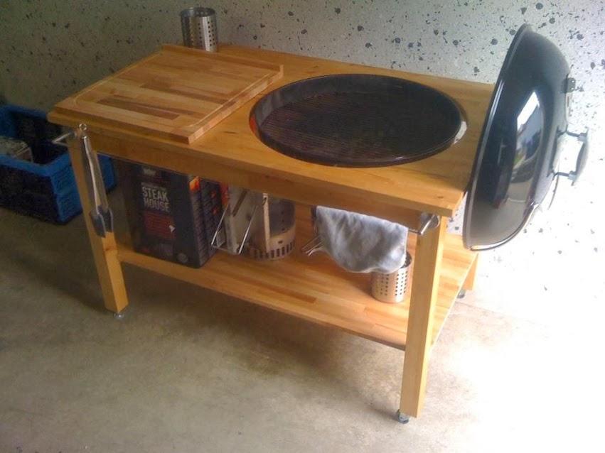 kugelgrill im tisch einbauen bestseller shop mit top marken. Black Bedroom Furniture Sets. Home Design Ideas