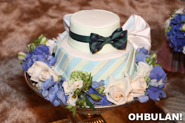 kek hantaran perkahwinan awal ashaari dan scha alyahya