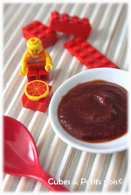 ketchup pour b b recette maison d s 24 mois cubes petits pois. Black Bedroom Furniture Sets. Home Design Ideas