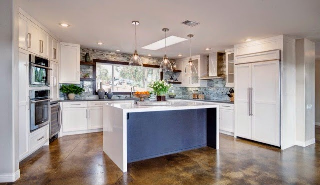Contemporary Ranch Kitchen Remodel