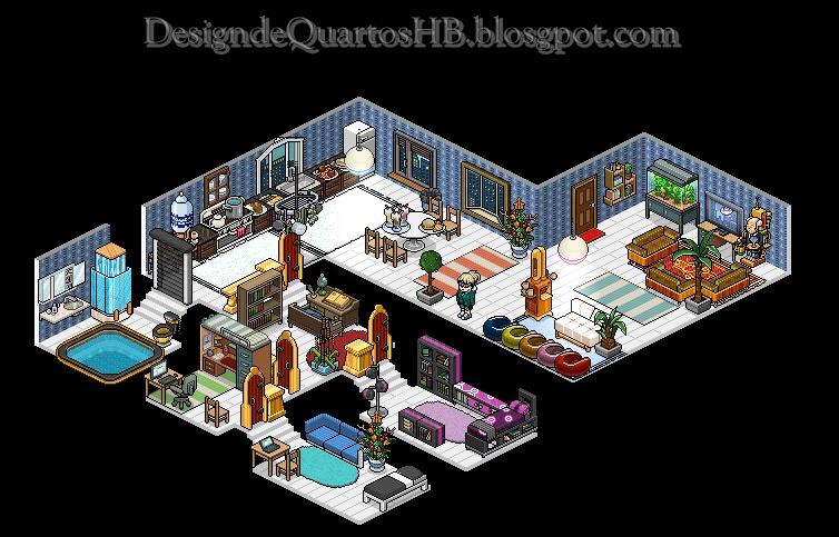 Casas Habblet ~ Design de Quartos Habbo