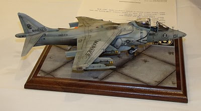 AV-8B Harrier model kit