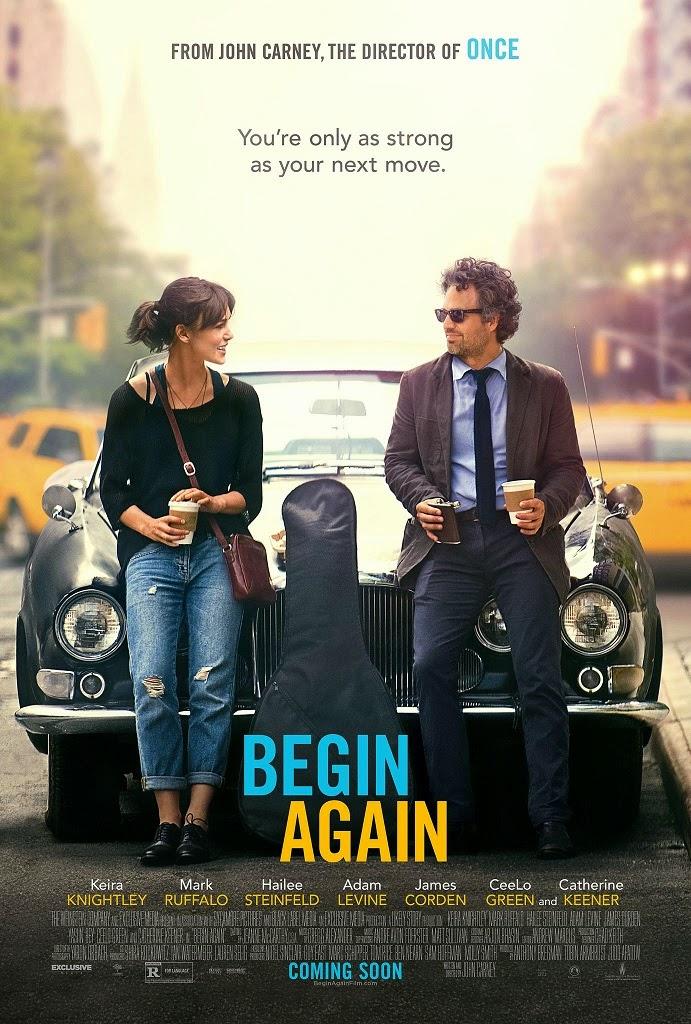 Παρ`το από την Αρχή (Begin Again) Poster