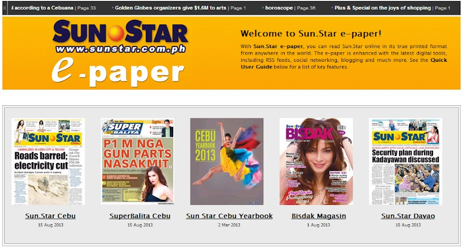 Sun.Star electronic papers