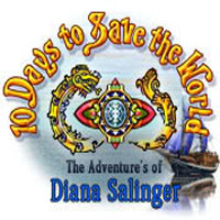 10 Days To Save the World: The Adventures of Diana Salinger cover