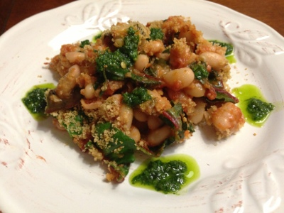 Plant-Based Way of Life: White Bean Chipotle Casserole