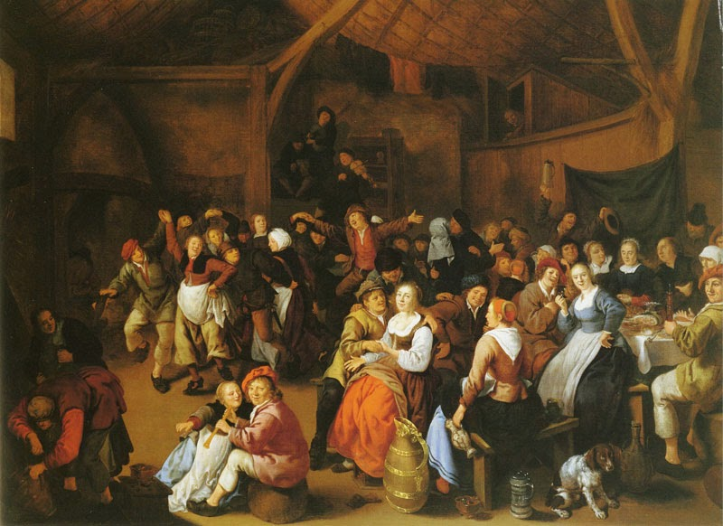 Jan Miense Molenaer - Peasant wedding feast