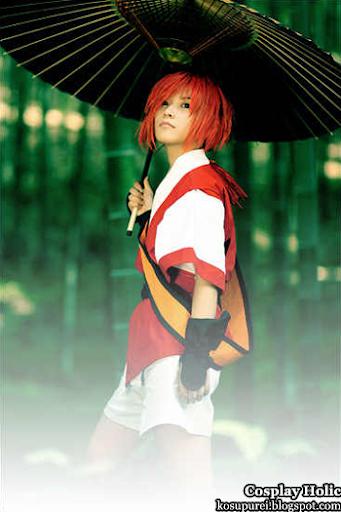 samurai shodown 3 cosplay - shizumaru hisame