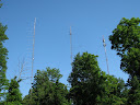 K8GP antenna farm after sunrise