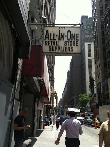 All In One Suppliers in midtown Manhattan has been around for more than 70 years. They have every type of mannequin you could imagine.