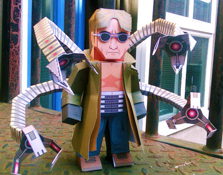 Doctor Octopus Papercraft