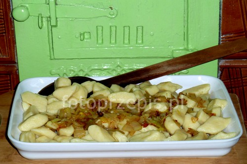 Kopytka (szagówki) ziemniak polska obiad danie glowne codzienne  przepis foto