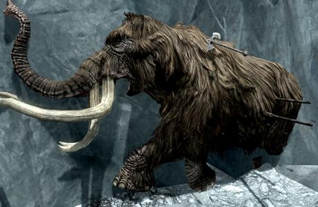 ノルドの狩りの痕跡