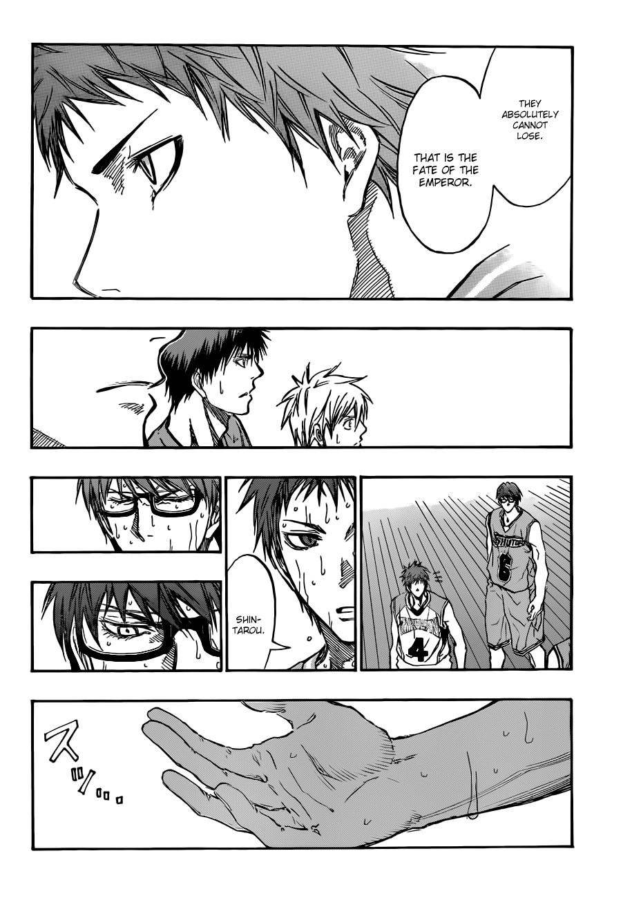 Kuroko no Basket Manga Chapter 183 - Image 04