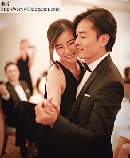 在日本東京千代區的 Aimee Vibert餐廳搞婚禮,原來由鄭太蒙嘉慧撲槌揀選。