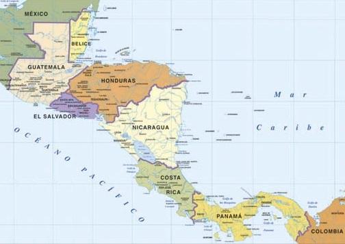 Islas de América Central