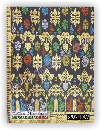Macam Batik, Batik Terbaru, Baju Modern, BP09 HITAM