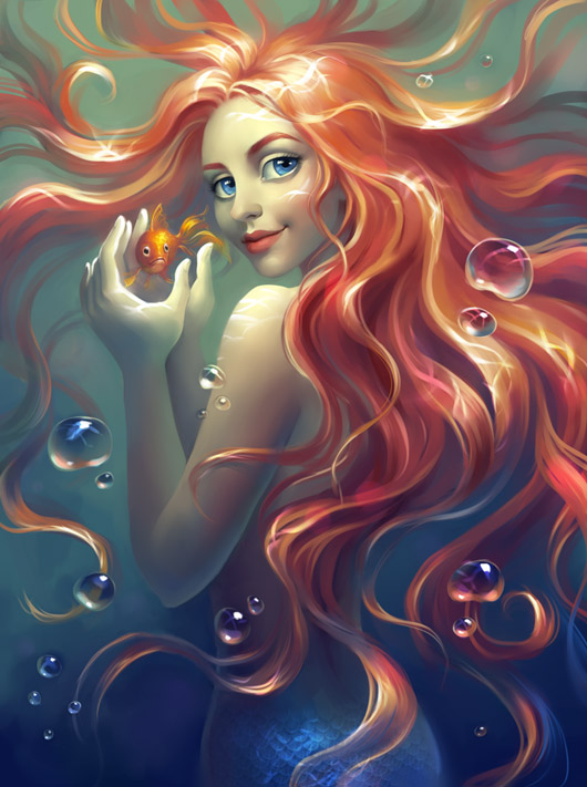 Mermaid, de Elena Berezina