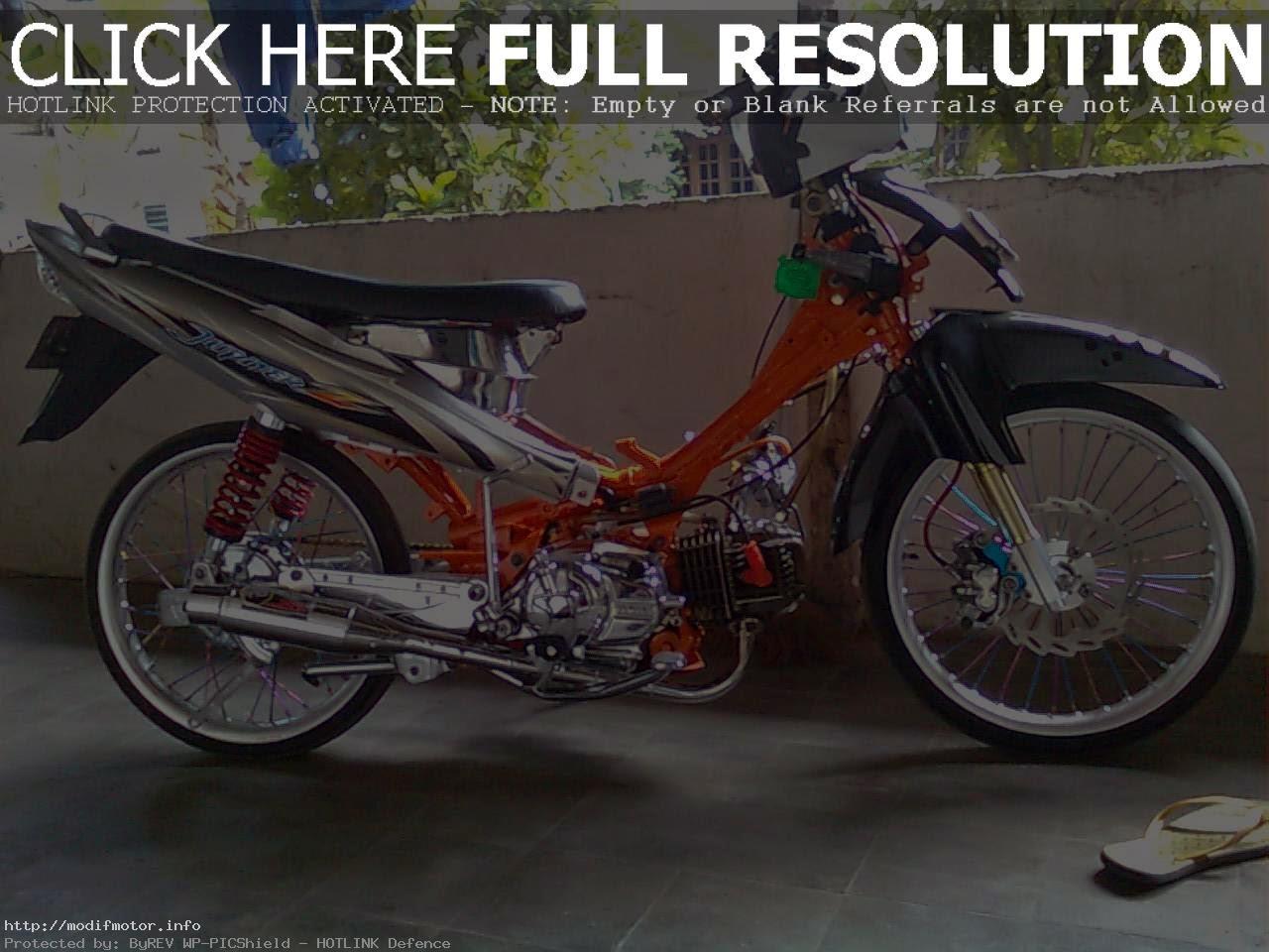 Foto Modifikasi Jupiter Z Racing
