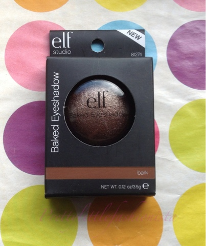ELF Baked Eyeshadow in Bark