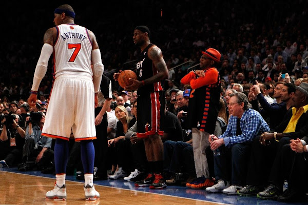Miami Wins Game 3 at MSG LeBron With New Elite 98217s 8211 Away PE