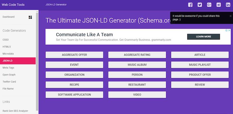 Формат микроразметки JSON-LD: что это такое?