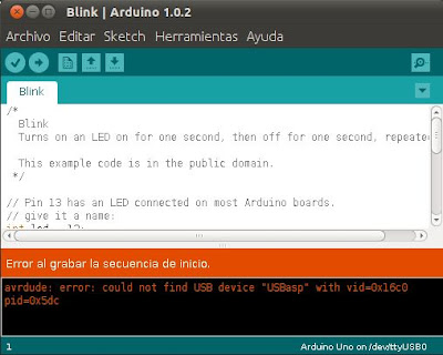 Programar el bootloader de Arduino