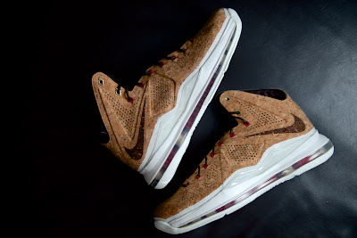 nike lebron 10 gr cork championship 8 01 One More Look at Nike LeBron X NSW Cork