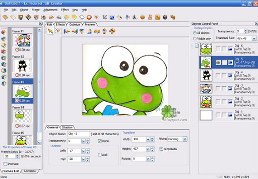 EximiousSoft GIF Creator 7.15 Portable | Full software
