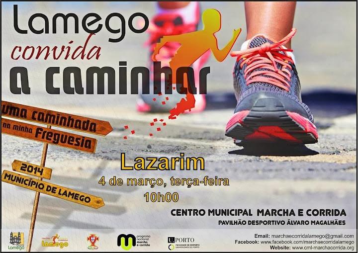 Convida a Caminhar em Lazarim
