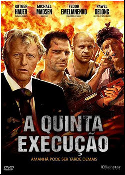 Filme Poster A Quinta Execução DVDRip XviD Dual Audio e RMVB Dublado