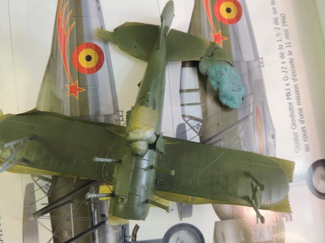 [Airfix] Gloster Gladiator DSCN1850
