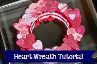 Heart Wreath border=