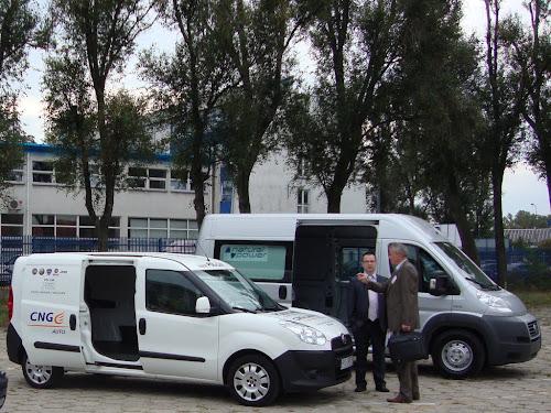 Fiat Natural Power na wystawie Blue Corridor 2012 w Warszawie