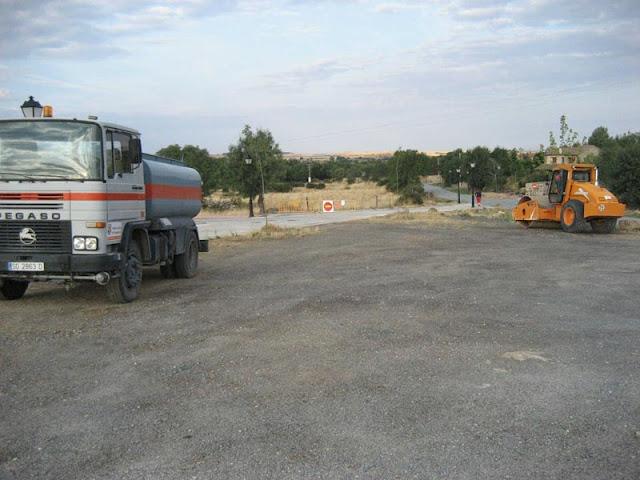 Arreglo del camino de Segovia