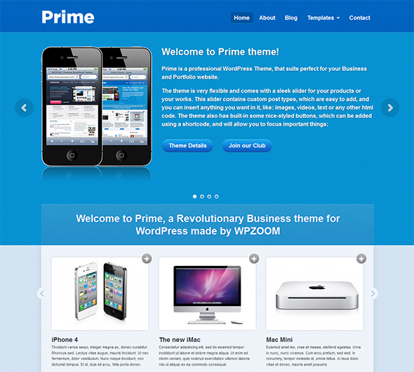Prime for WordPress