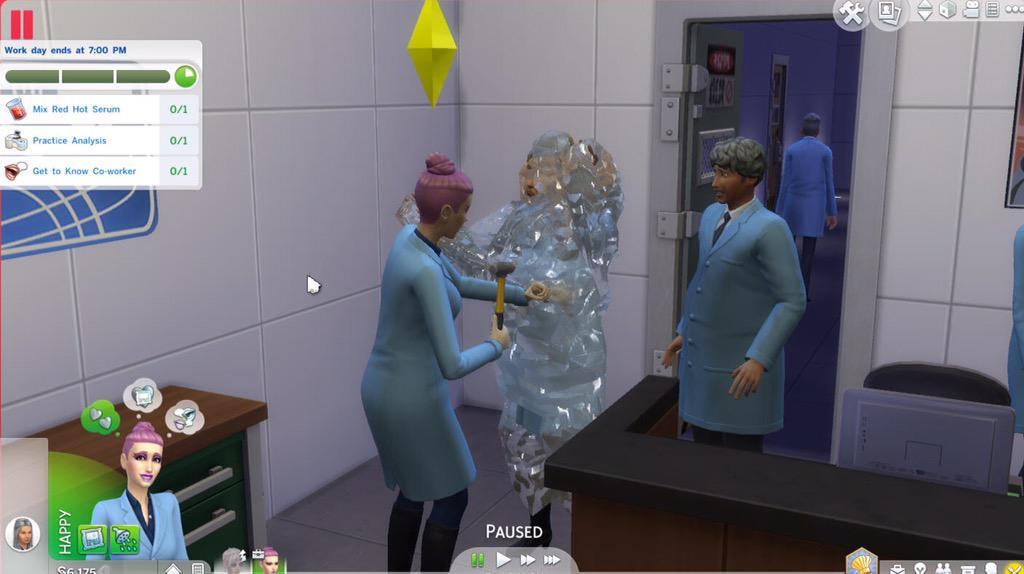 Sims 4 aan het werk gratis spelen