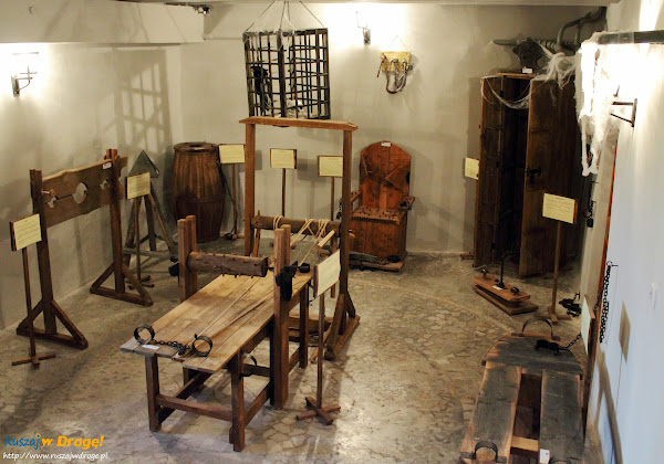 Szydłów - muzeum tortur