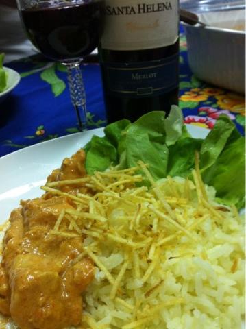 Confort Food, Strogonoff de frango, Baby Alface, receita Strogonoff de frango, como fazer Strogonoff de frango, como preparar Strogonoff de frango,