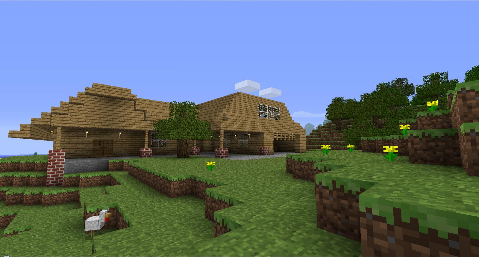 Minecraft stuff minecraft modern house for Modern home stuff