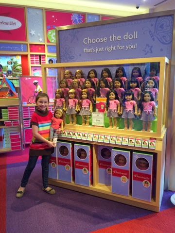 shopping at american girl doll store in orlando. Black Bedroom Furniture Sets. Home Design Ideas