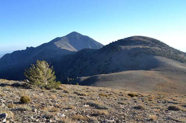 Telescope and Bennett Peaks