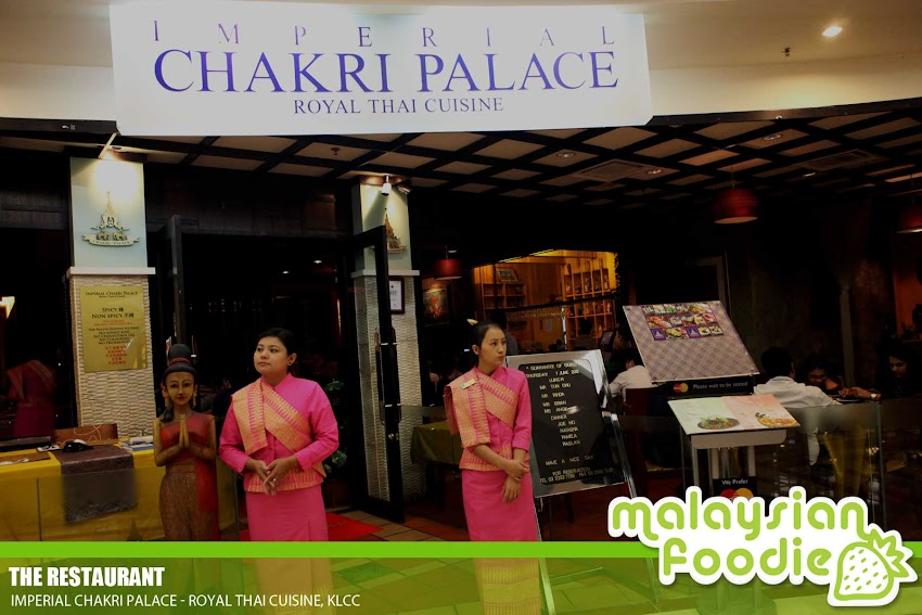 IMPERIAL CHAKRI PALACE, KLCC ( INVITED REVIEW)