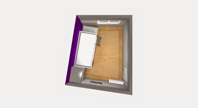 plano de dormitorio adaptado a medida