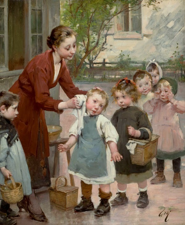 Henry Jules Jean Geoffroy - The Teacher's Touch