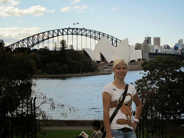 Tereza Daniluková strávila v Austrálii rok studiem pohostinství. Foto: archiv Terezy Danilukové
