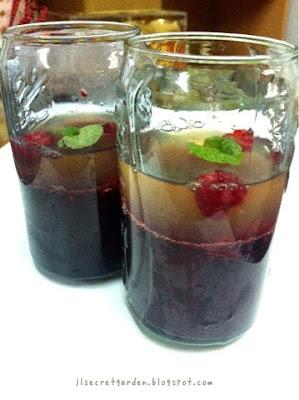 有機薄荷覆盆子莓啫喱 Organic mint & raspberry jelly