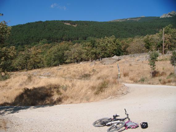 Nuestra ruta de Madrid a la Morcuera y Canencia. Septiembre 2012