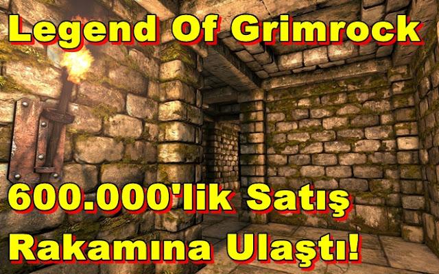 Legend Of Grimrock'un Satışları İyi Gidiyor!