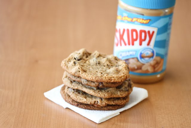 photo of a stack of Peanut Butter Cookies